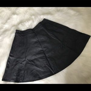 Sway Leather Skirt